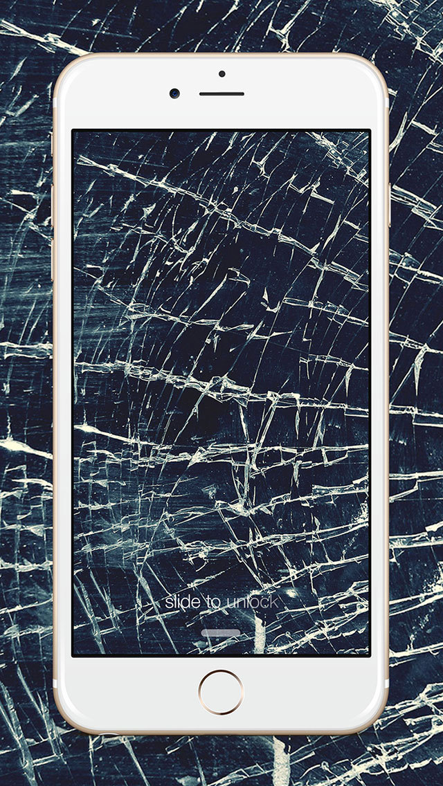 Cracked Screen Wallpaper Iphone 6 App Shopper Broken Screen Wallpaper Cracked Screen