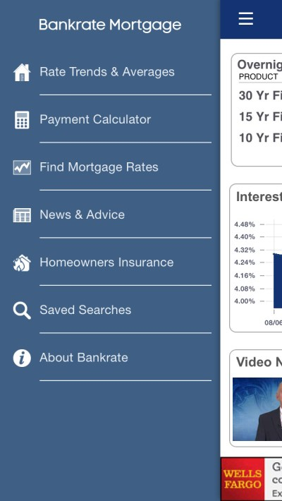 Mortgage Calculator & Mortgage Rates by Bankrate - appPicker