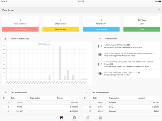 Nano Home Inventory - Personal Belongings And Finance Manager