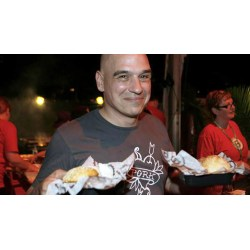 Small Crop Of Michael Symon Wife