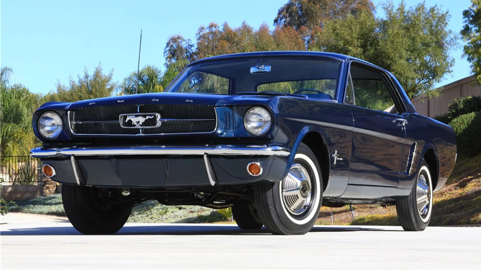 Coupe Ford The First Mustang Coupe Ford Built Heads To Auction Fox News
