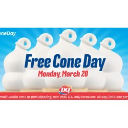 Modish Free Ice Cream At Dairy Queen To Celebrate Day Spring Free Cone Day Dairy Queen 2018 Free Cone Day Dairy Queen 2016