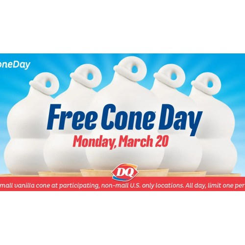 Medium Crop Of Free Cone Day Dairy Queen 2017