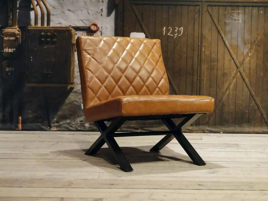 Bepurehome Rough Stoel : Leren stoel leren stoel verven thermaflexlatam