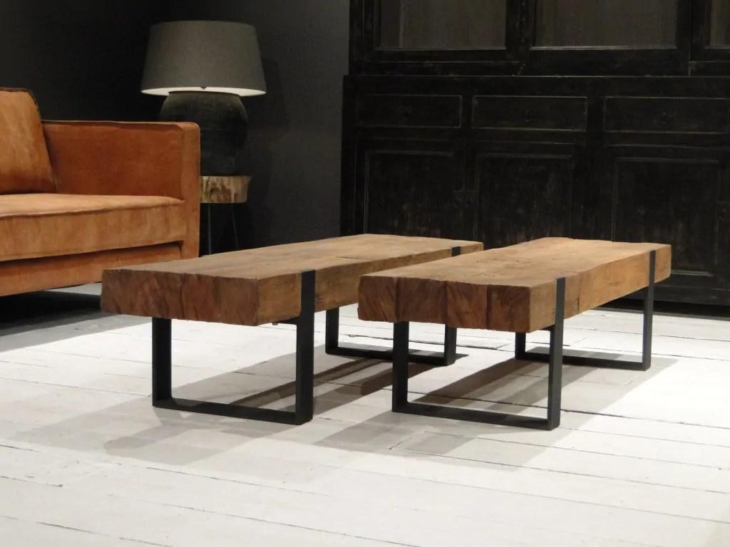 Massieve meubels outlet meubels salontafel edson direction pure