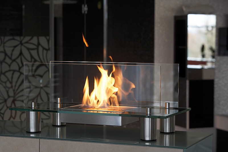 20 Glass Fireplace Ideas To Keep You Warm This Winter