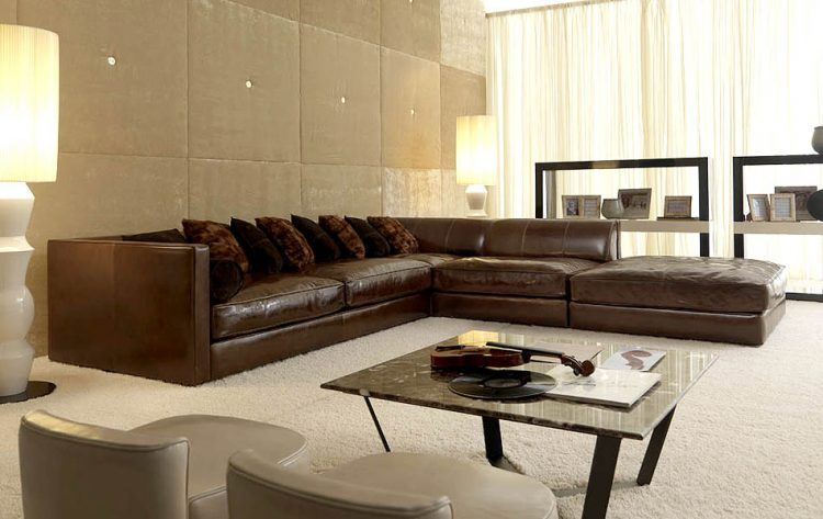Sectional Couches 20 Cool Sectional Leather Couch Ideas