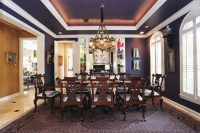 Beautiful Dining Rooms with Coffered Ceilings