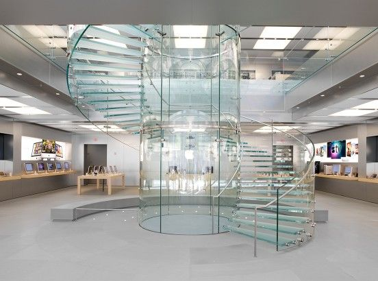 Https Www Houzz Com 20 Amazing Glass Spiral Staircase Designs