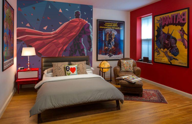 Https Www Houzz Com 20 Of The Most Awesome Superhero Themed Bedrooms