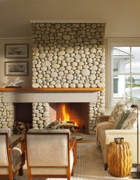 20 Of The Most Beautiful Stacked Stone Fireplace Designs ...
