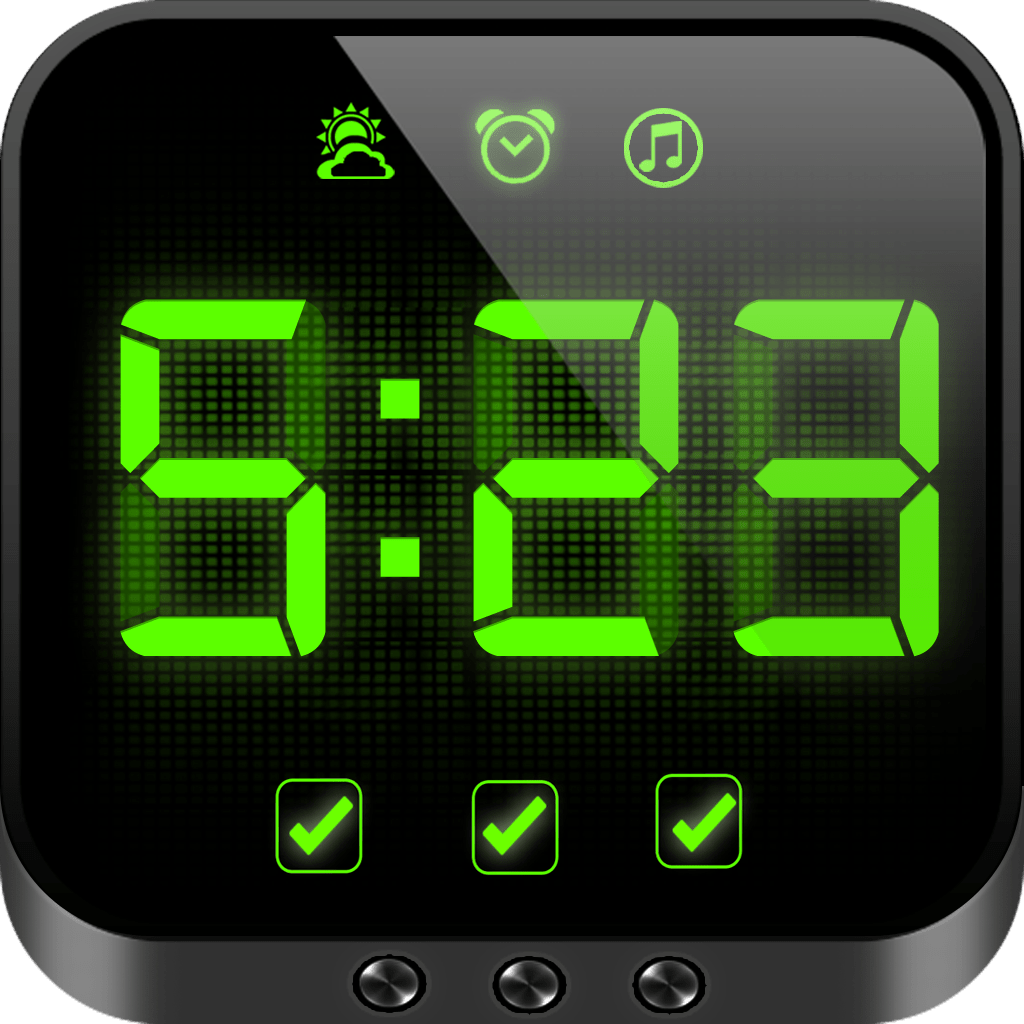 Awesome Digital Clocks Cool Alarm Clock And Day Reminder Free Par George Agbalyan