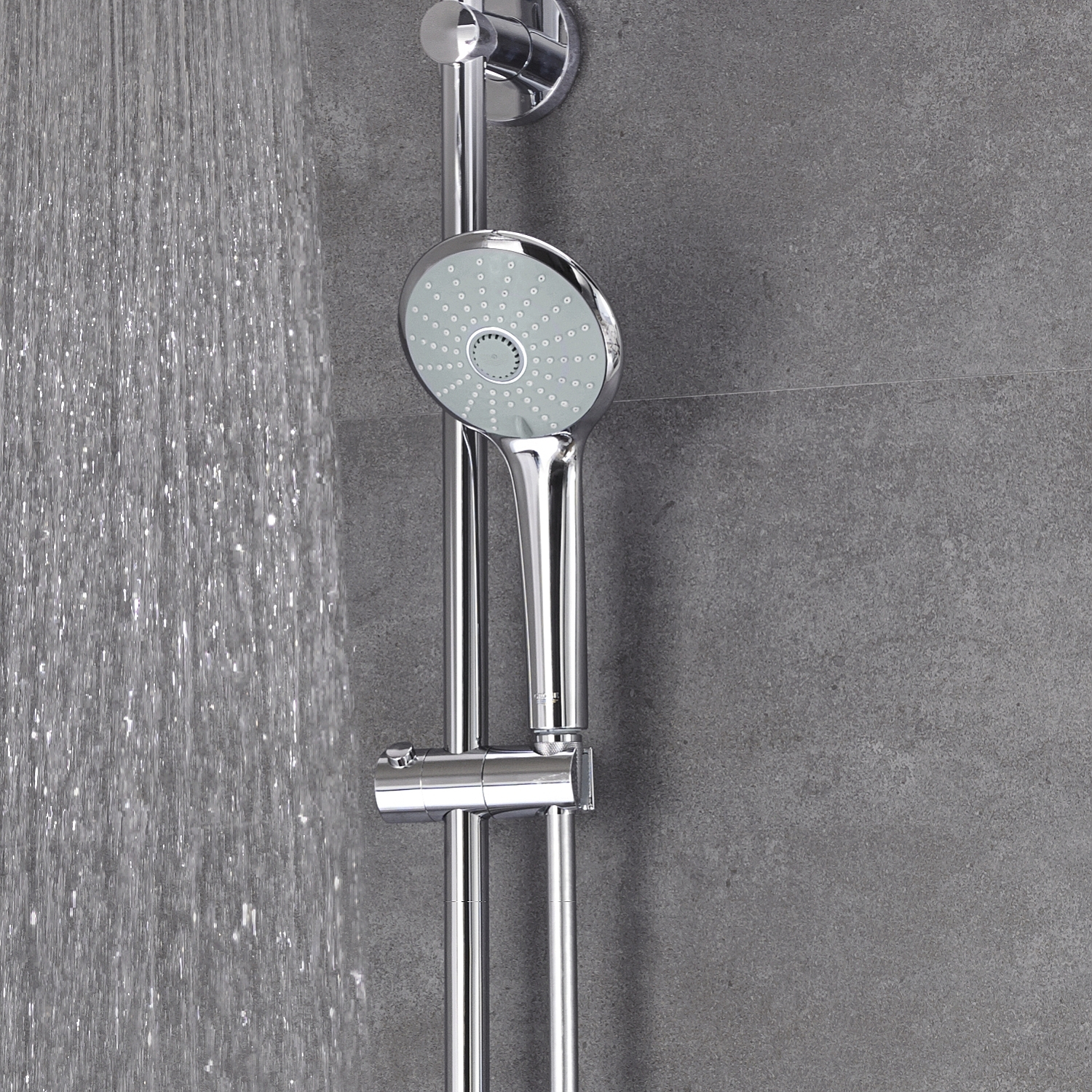 Grohe Euphoria Douchesysteem 180 Chroom Grohe Euphoria Xxl 210 Douchesysteem Met Thermostaatkraan Chroom 27964000