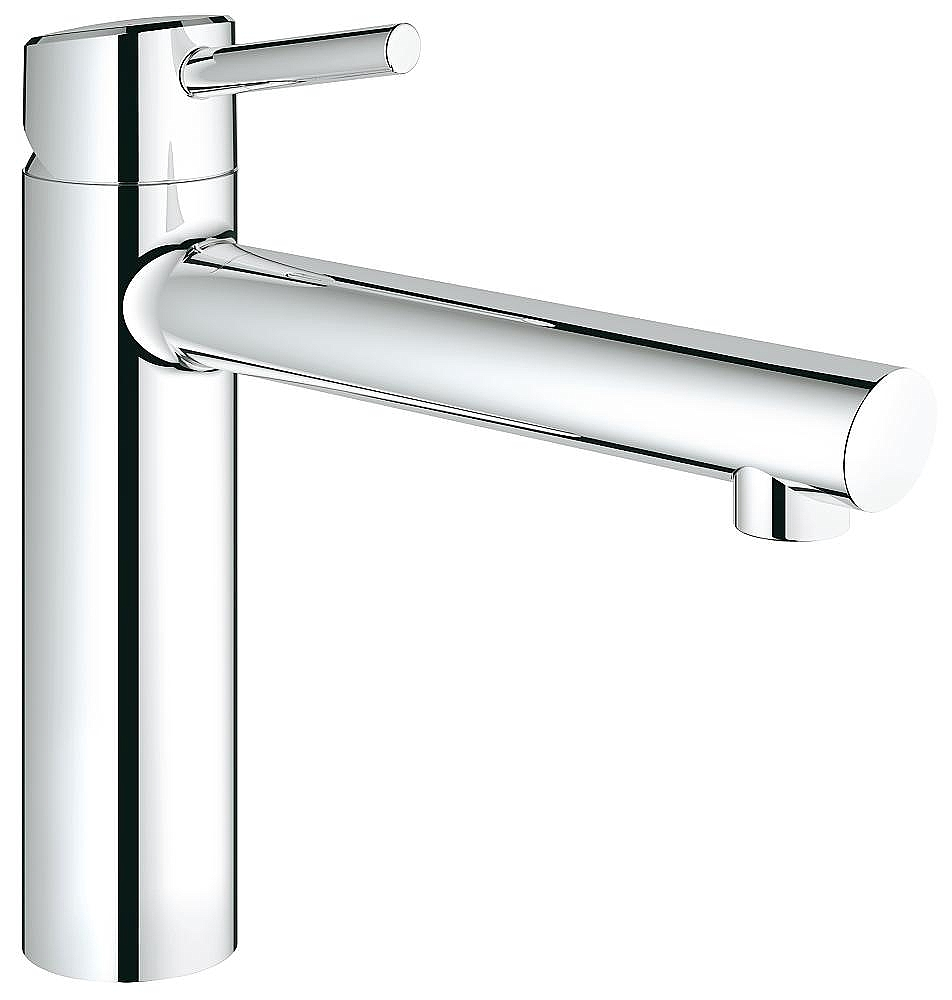 Keuken Kranen Grohe Concetto Keukenkraan M Medium Uitloop Chroom 31128001