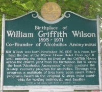 Birthplace of Bill Wilson