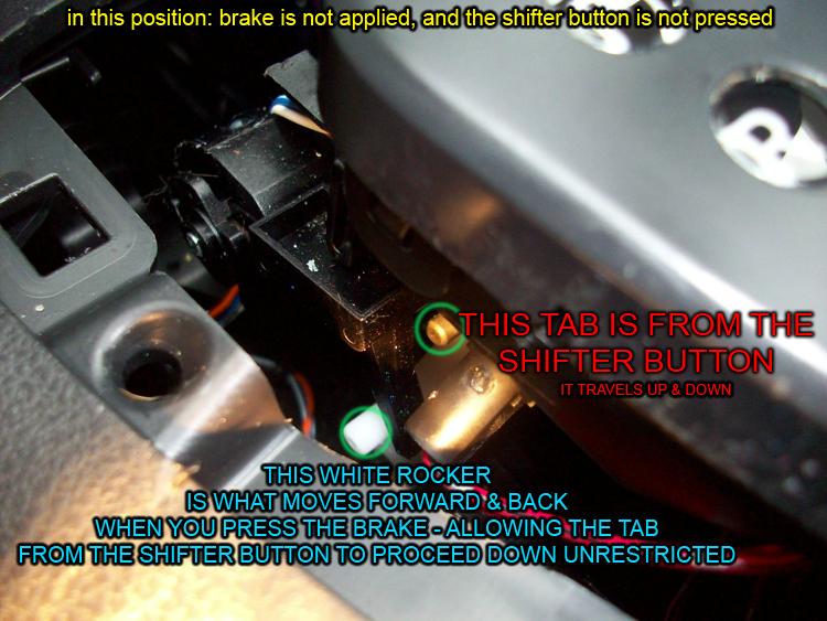 DIY Brake Shift Interlock Solenoid FIX! - Nissan Forum Nissan Forums