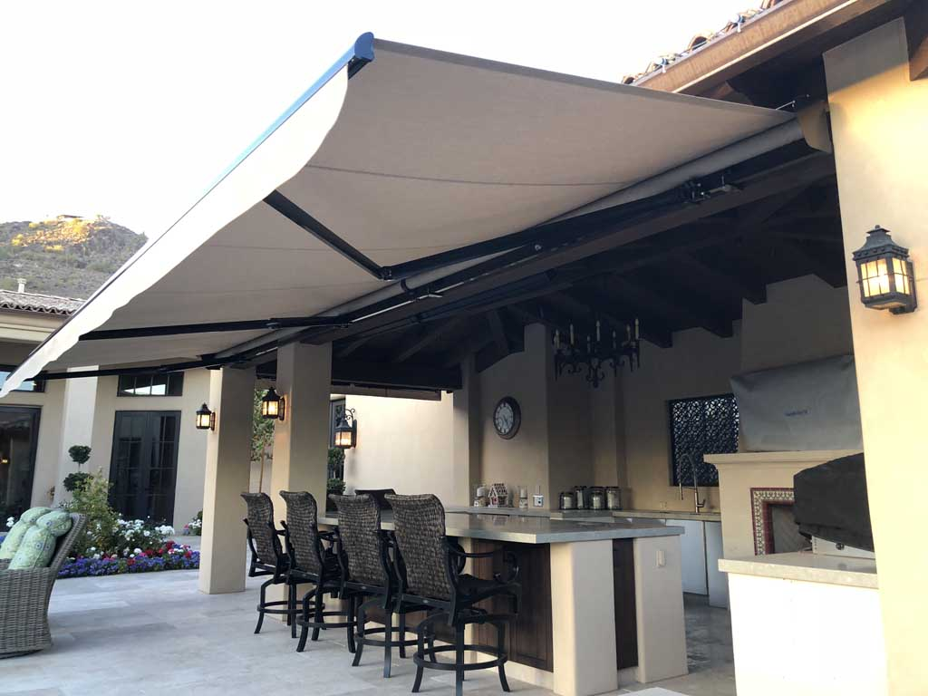Garage Awning Extension Retractable Awnings Phoenix Aaa Sun Control