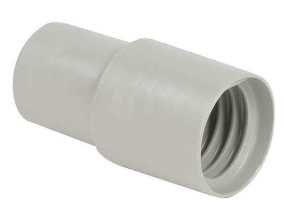 Hose End Cuff Crshprf 1 1 4 Quot Grey Aaa Vacuum Superstore