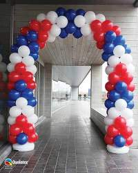 Balloon Arches from Affairs Afloat Balloons Fort Worth Texas
