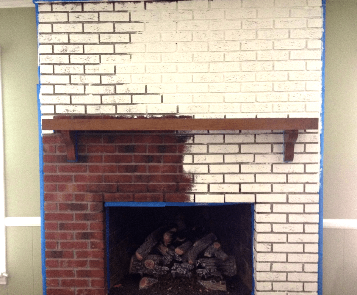 Heat Resistant Paint Fireplace Pianting A Brick Fireplace A Able Auto Salvage