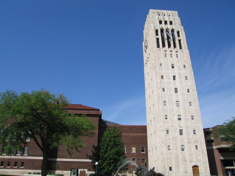 Burton Tower, University of Michigan Ann Arbor District Library