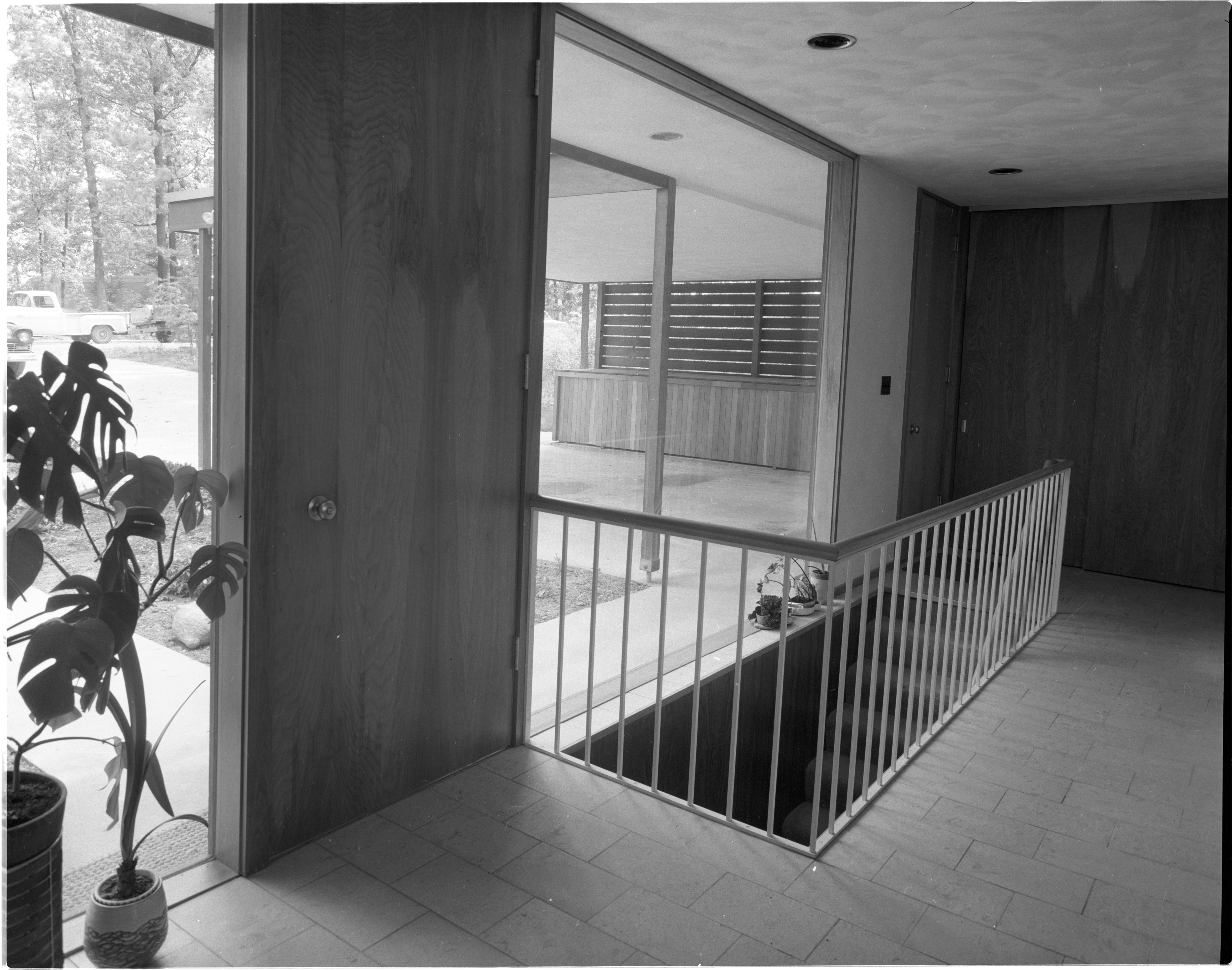 Black And White Marble Floors Marble Floors Chosen For Entryway At Moore Home June 1958 Ann