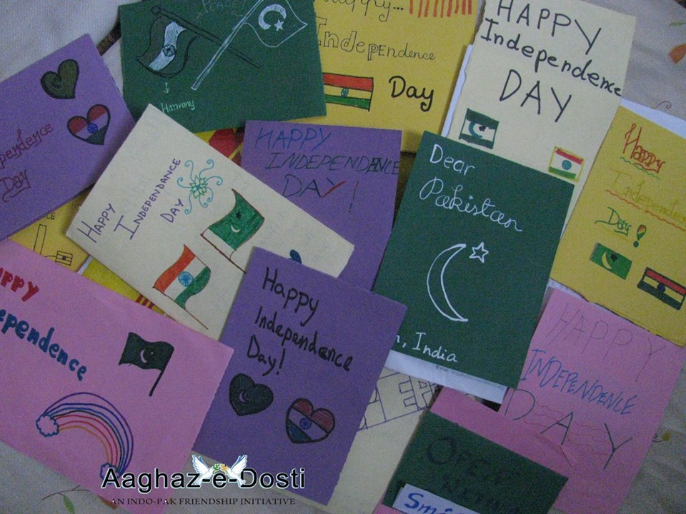 Independence Day Cards Aaghaz-e-Dosti