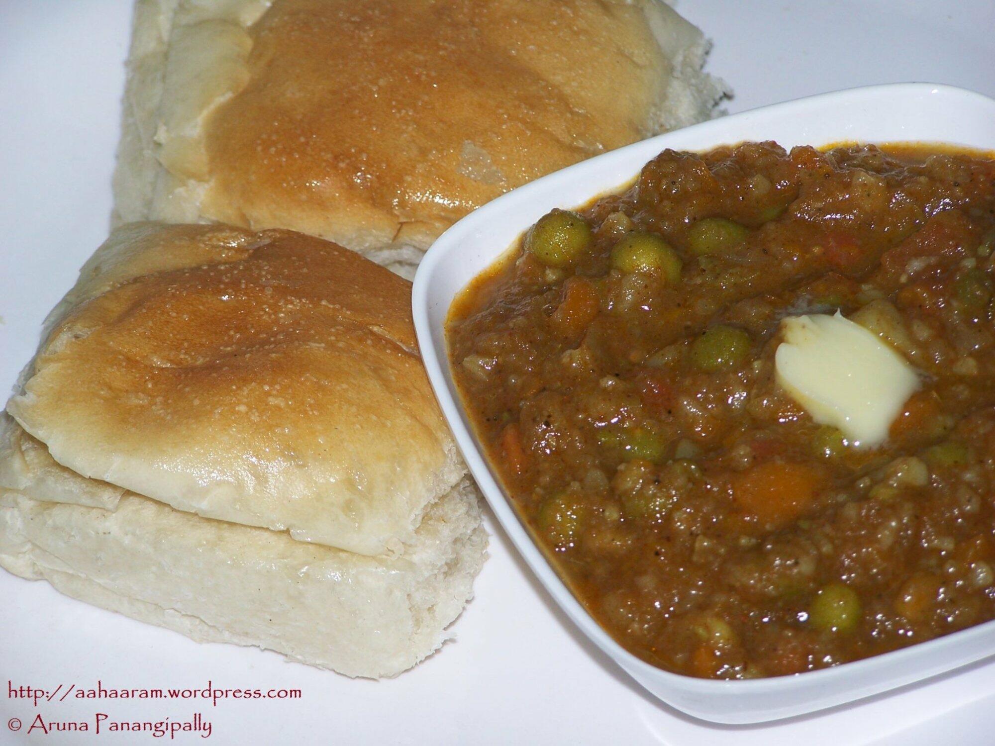 how to prepare pav bhaji in telugu