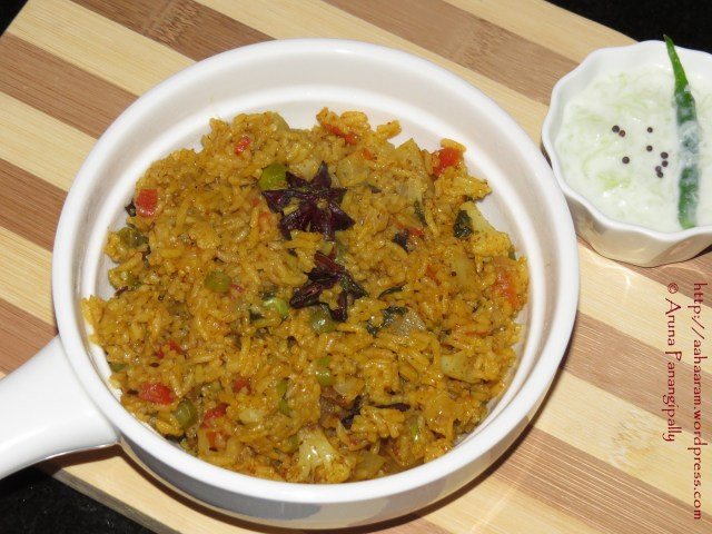 Vegetable Pulao...