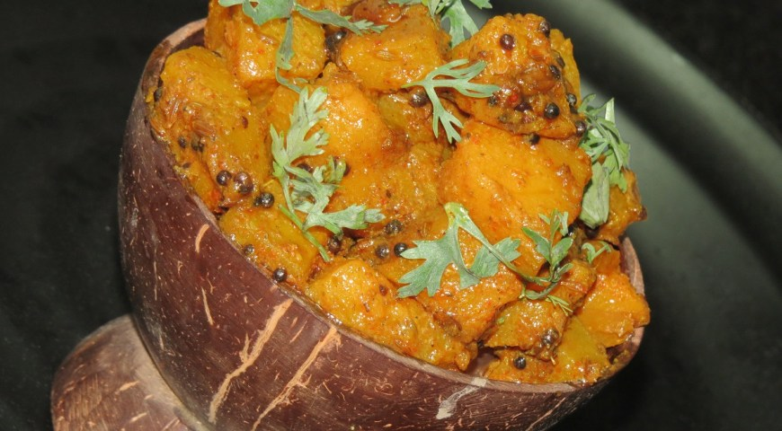 pumpkin jaggery curry