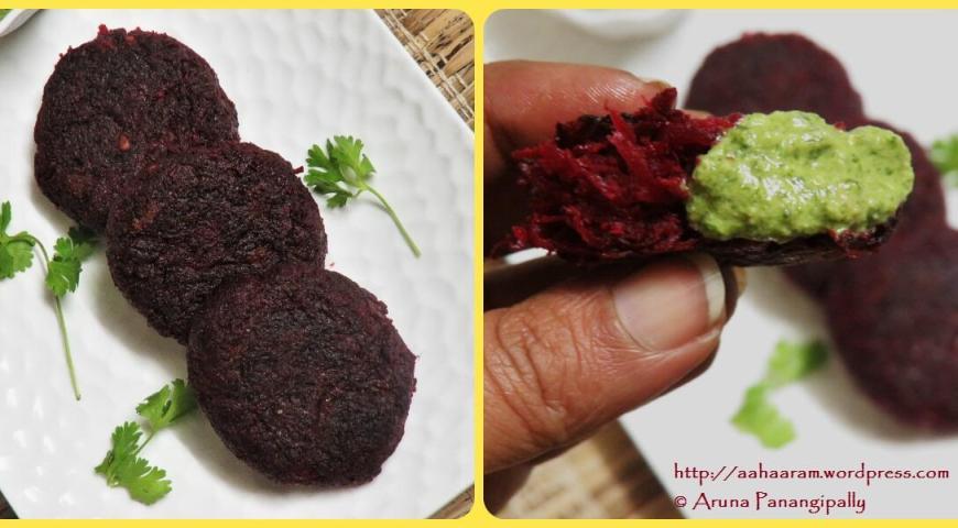 Beetroot Tikki | Beetroot Cutlet: Recipe by Heena Jhanglani