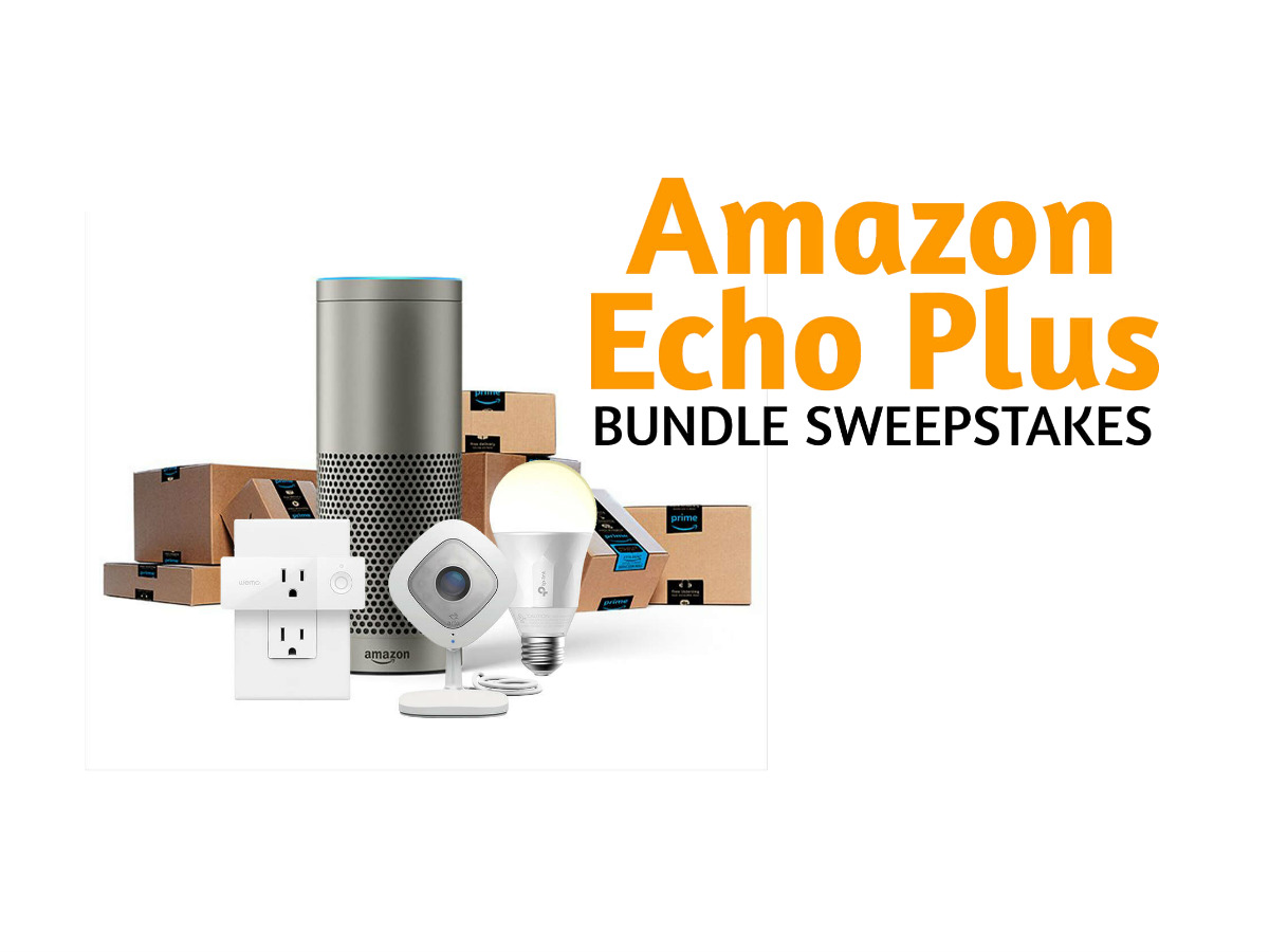 Amazon Smart Home Free Enter To Win Amazon Echo Smart Home Bundle Sweepstakes