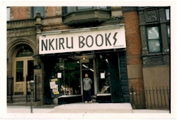 Nkiru Books, a Brooklyn based institution founded in 1977, closed in 2002 - Photo Credit: Marcia Wilson