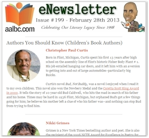 AALBC.com eNewsletter - February 28th 2013 - #199