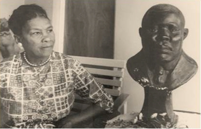 Photo of Amy Jacques Garvey provided by Dr. Julius Garvey.