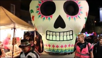 Mexican Day of Dead: a new celebration for Basingstoke, 30th October 2015