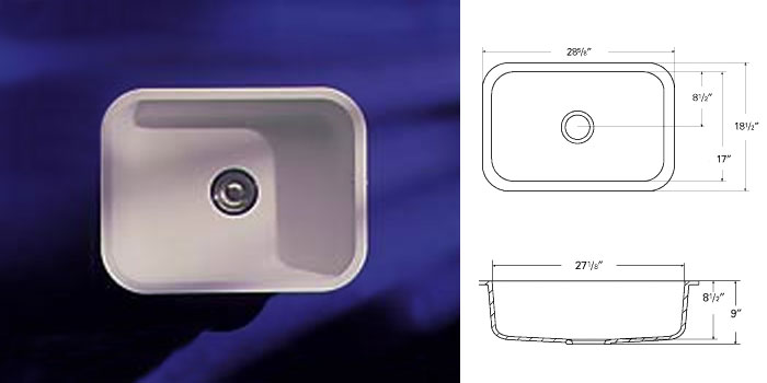 What Is A Farm Sink A-american Countertops : Sink Models