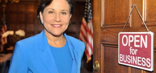 U.S. Secretary of Commerce Penny Pritzker.