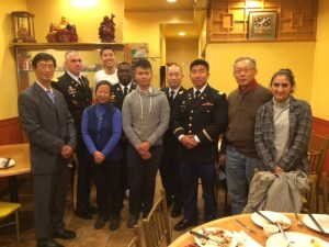 OCA-NY chapter with Army representatives after commemoration of 4th Anniversary of Private Danny Chen.