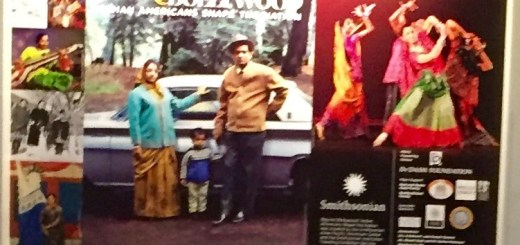 A display at the Beyond Bollywood: Indian Americans Shape the Nation exhibit at Minnesota History Center.