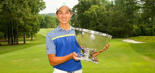 Min Woo Lee became the first Australian to win the U.S. Junior Amateur and joined his sister, Minjee, as a USGA champion. (USGA/Darren Carroll)