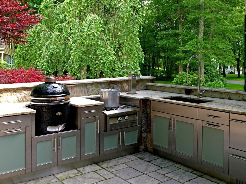 Outdoor Stainless Steel Cabinets Stainless Steel Cabinets For Your Outdoor Kitchen Trend