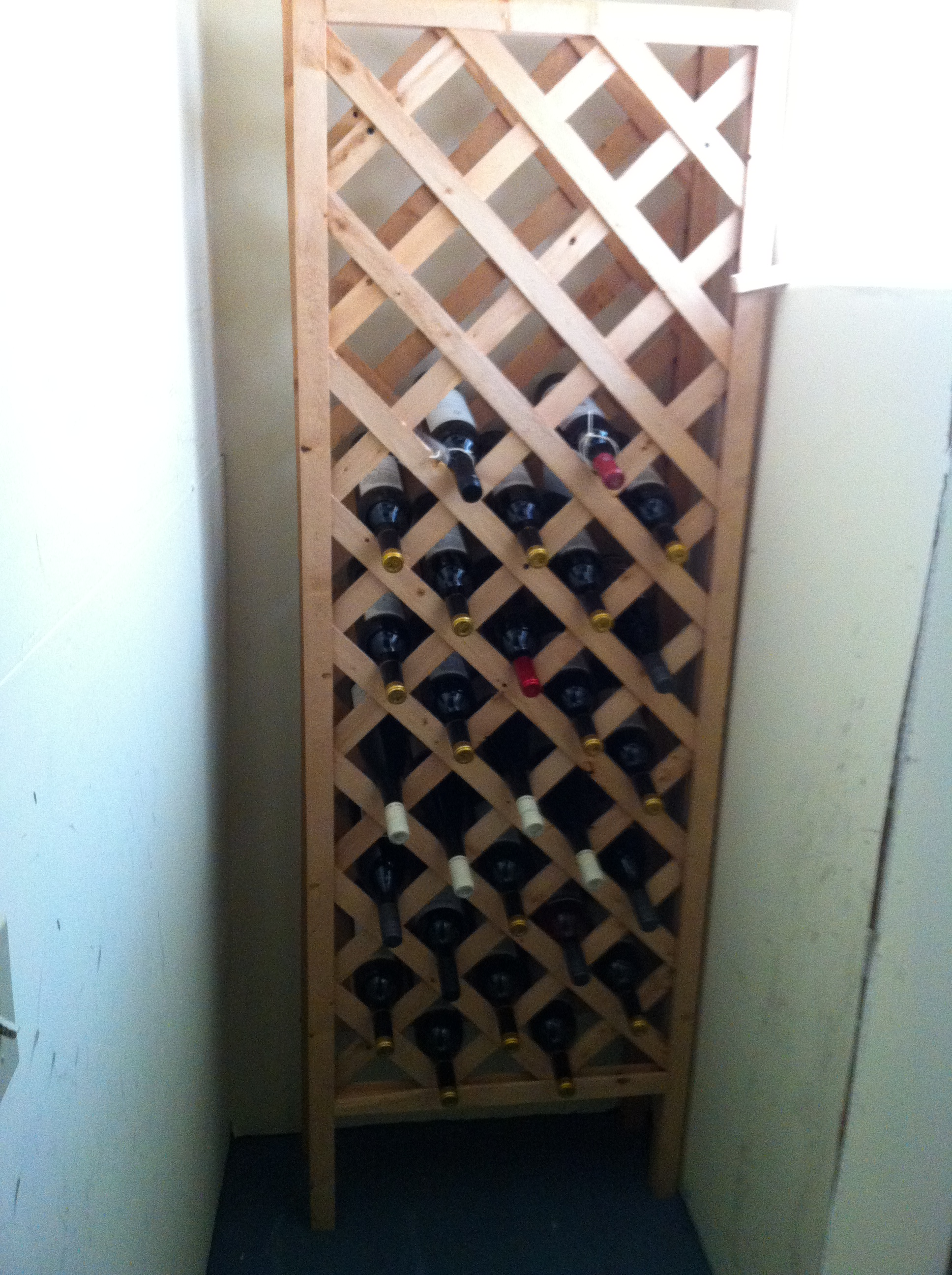 Diy Wine Storage Rack The Diy Wine Cellar Aaron Berdofe 39s Wine And Food Experience