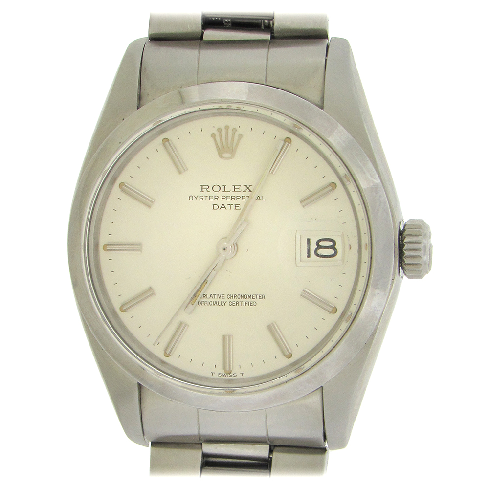 Stainless Rolex Stainless Steel Rolex Date Ref 1500