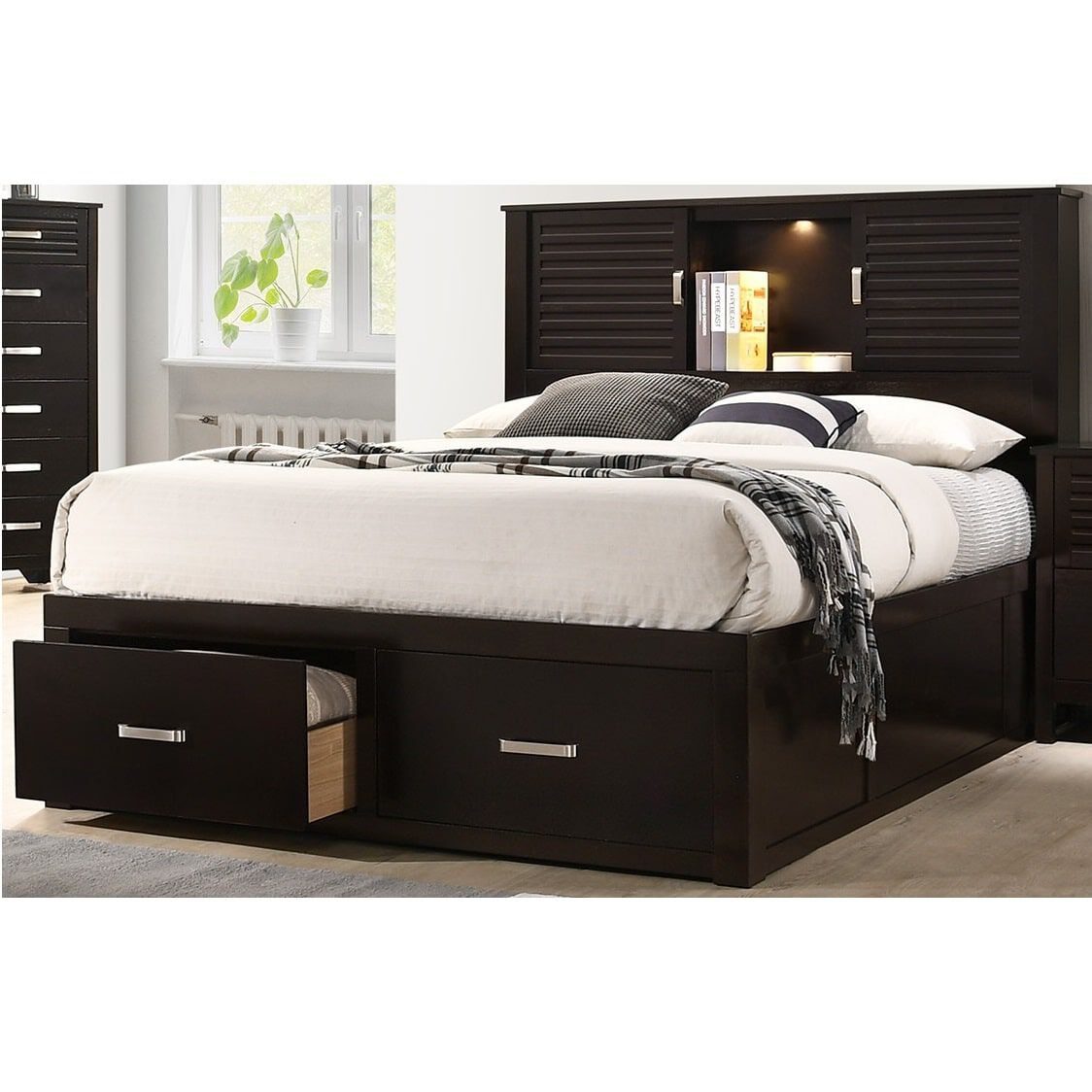 Bedroom Mattress 9 Piece Dalton Queen Bedroom Collection With Tight Top Mattress