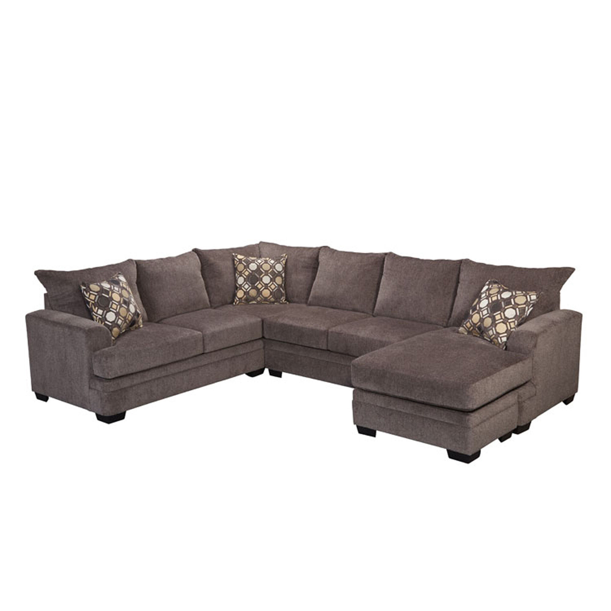 Big Couch Small Door 2 Piece Kimberly Sectional Living Room Collection