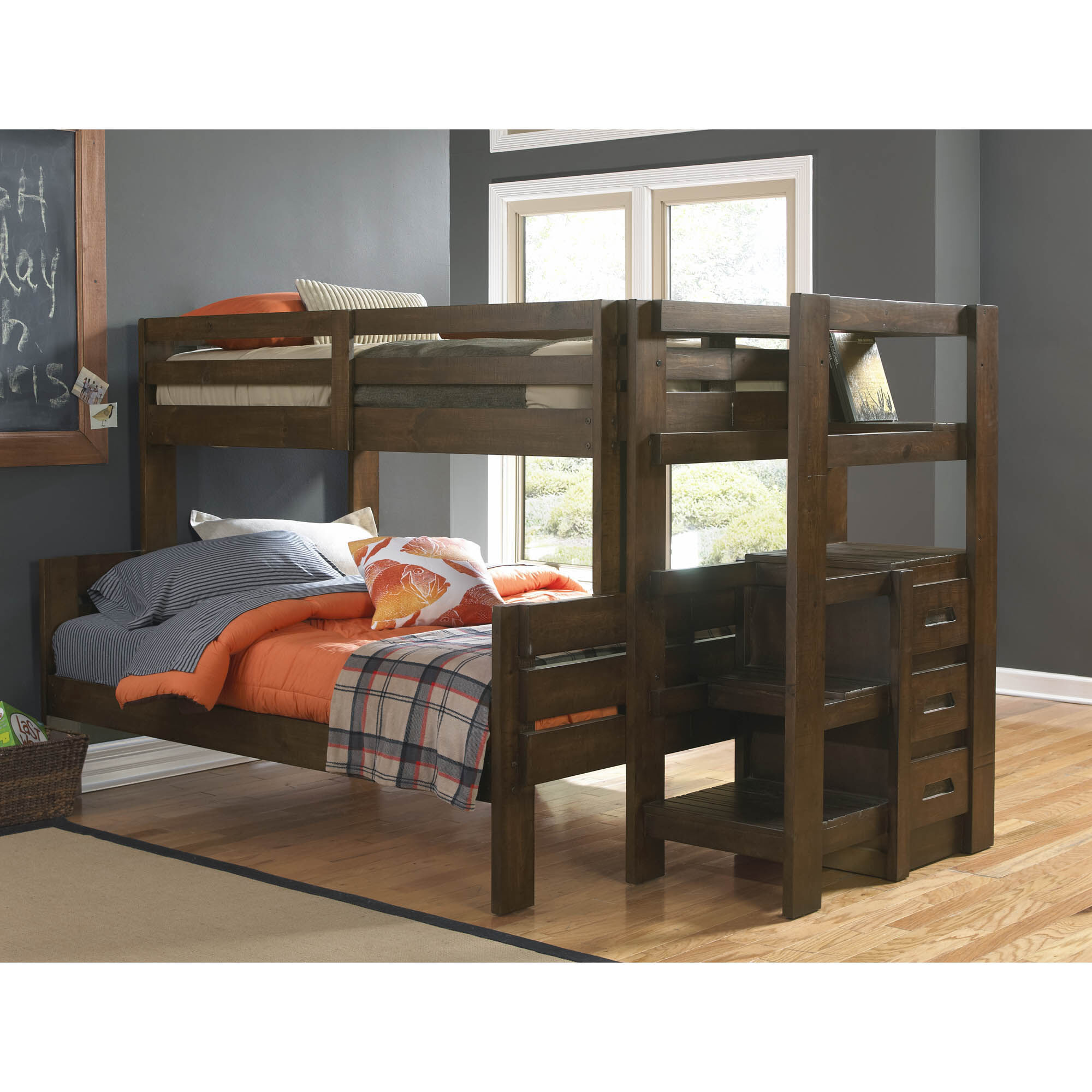 Double Bunks For Sale Oak Furniture West Bedroom Groups Twin Plus Full Storage Bunk Bed