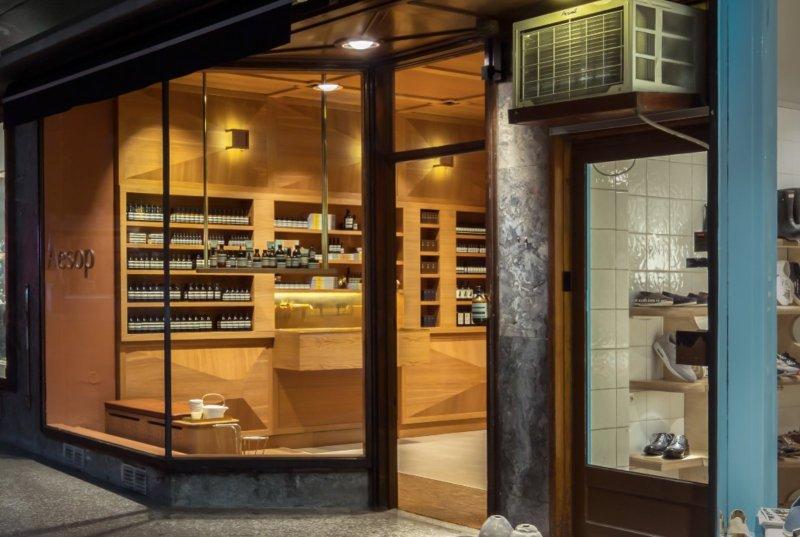 Aesop store in Oslo