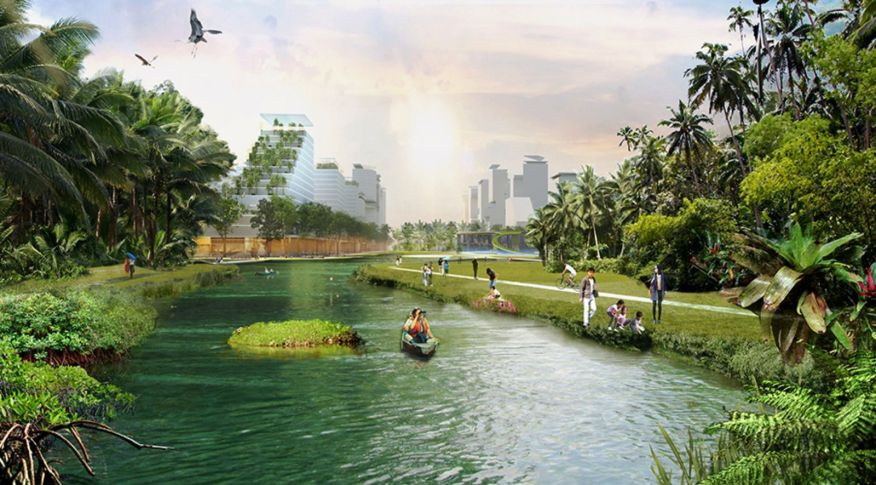masterplan Jurong Lake District