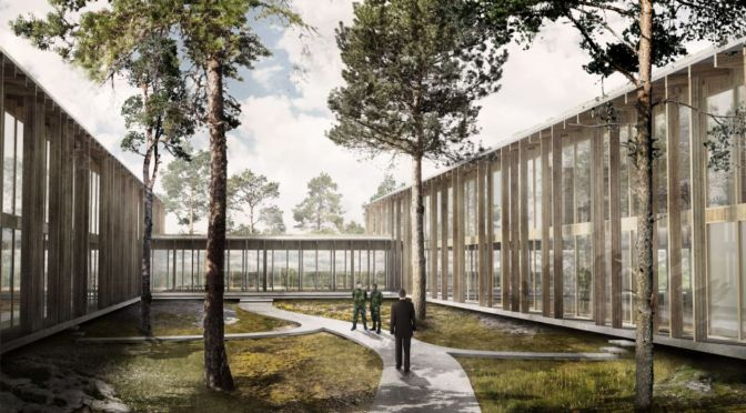 C.F. Møller wins Defence Building Contract on Gotland